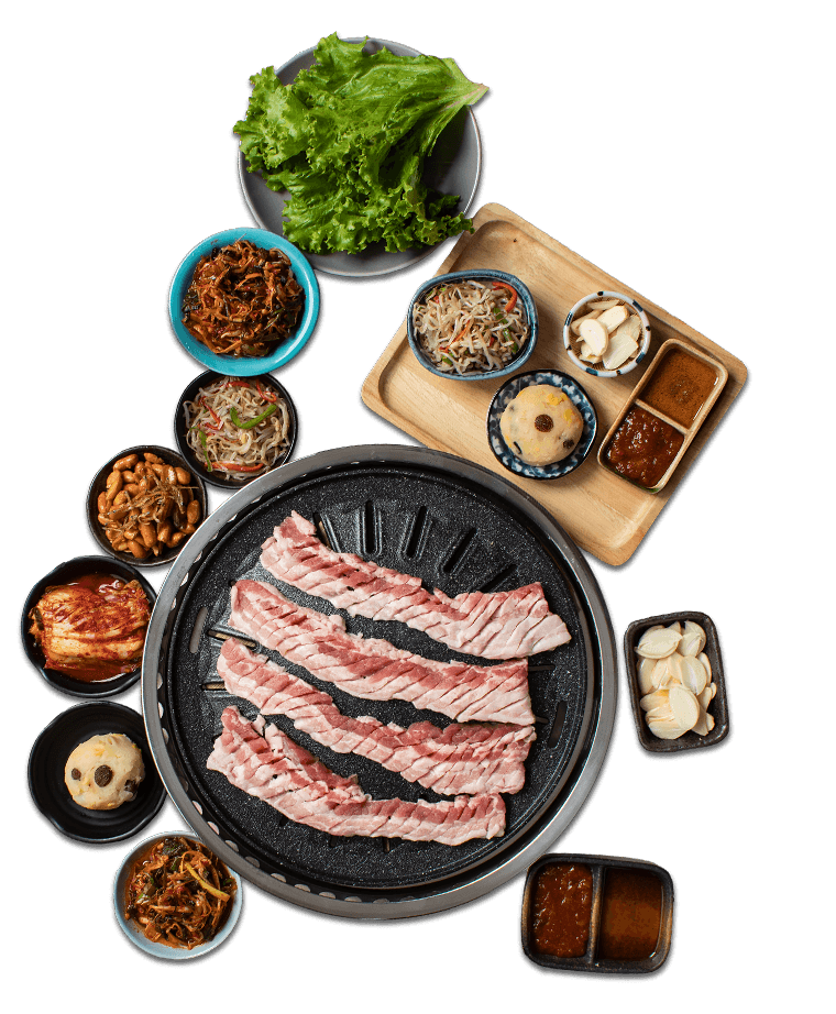 Soban K-Town Grill PH MEGA MEAT BBQ SET