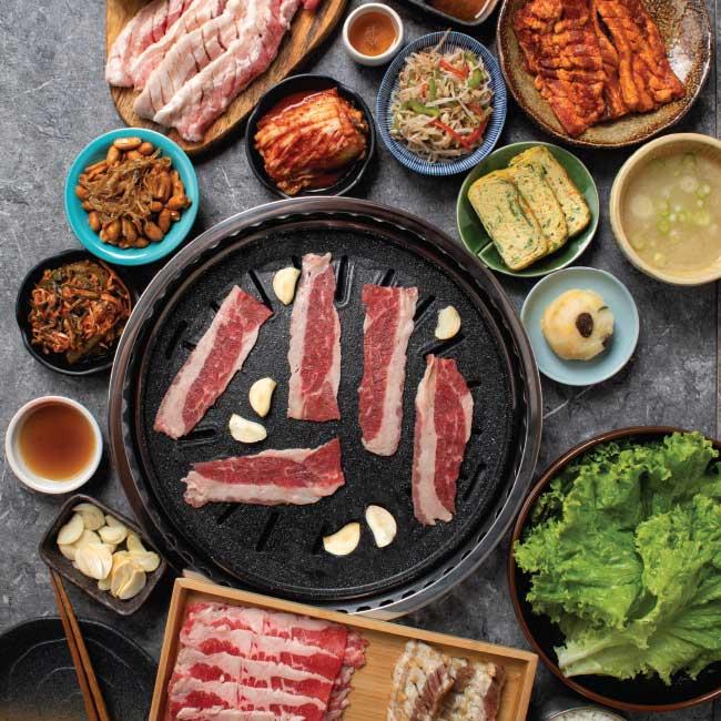 Soban K-Town Grill PH MEGA MEAT BBQ SET